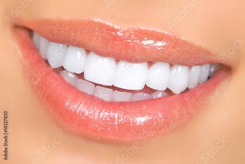 Fotomural woman teeth