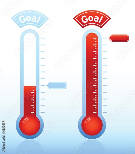 Obraz na plátně Thermometer