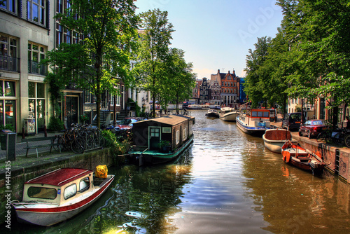 Amsterdam - Niederlande / Holland Poster
