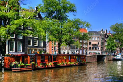 Plakat Amsterdam - Holandia / Holandia