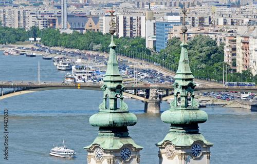 Fotografie, Obraz  danubio budapest