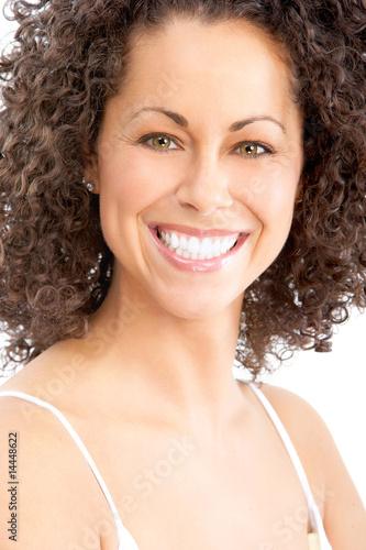 Vászonkép happy woman