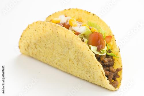 Fotografie, Obraz  delicious taco, mexican food