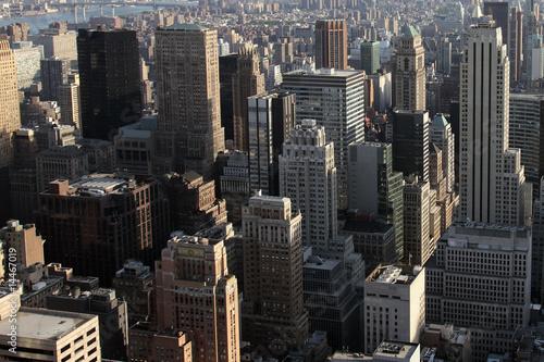 Vue sur les tours de Manhattan - New York - 14467019