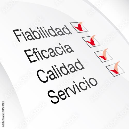Fotografía servicio eficacia calidad servicio