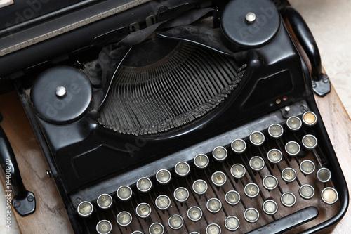 Photo  vecchia macchina per scrivere
