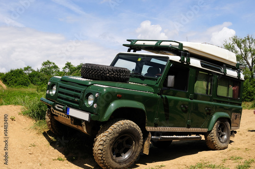 Photo  Classic 4x4 vehicle