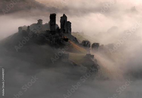 Fotografiet Corfe Castle