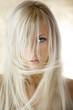 Leinwanddruck Bild the blond girl
