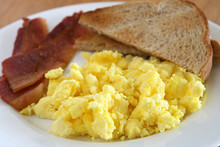 Scrambled Eggs And Bacon