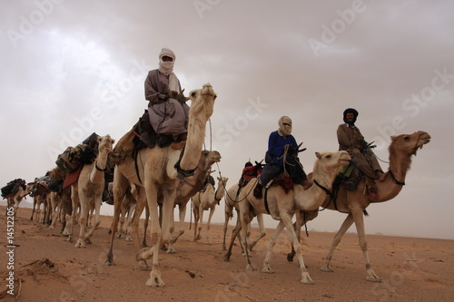 Photo Stands Algeria Touaregs