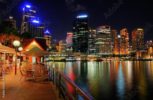 fototapeta na drzwi i meble Sydney City Skyline