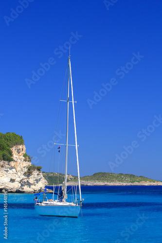 Foto-Kissen - Sailing yacht (von Netfalls)