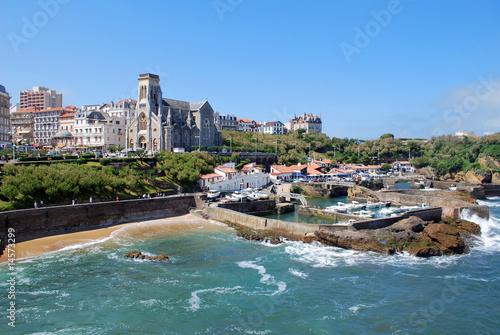 Photo Le port de Biarritz