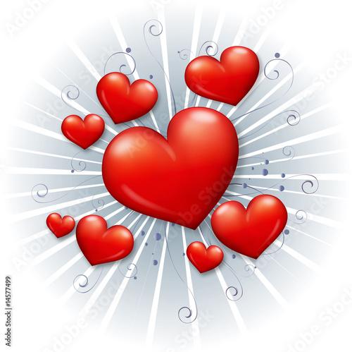 Photo Plein de cœurs