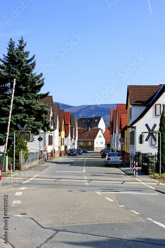 Valokuvatapetti Ortsstrasse