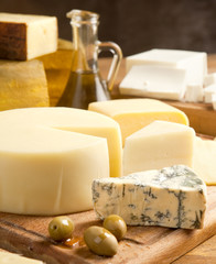 Fototapeta fresh french cheese