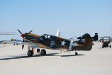 P-40 Tiger Shark On Flightline