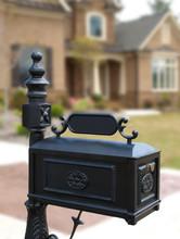 Luxury Model Home Ornate Mailbox