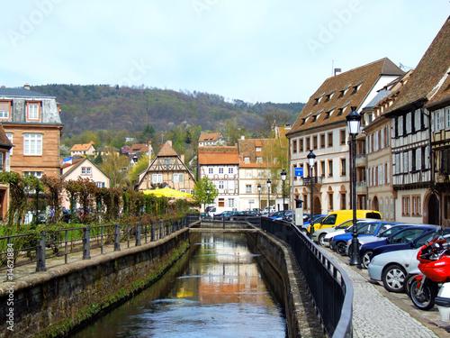 Poster Scandinavie Wissembourg kanalisierter Bach
