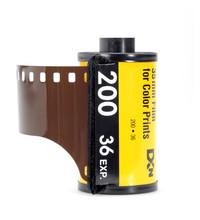 Kleinbild Filmpatrone Mit Filmstreifen