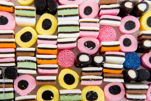 licorice allsorts Wallpaper Mural