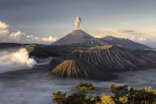 Mount Bromo Volcano After Erup...