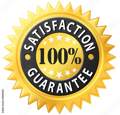 Fotografía  Satisfaction guarantee