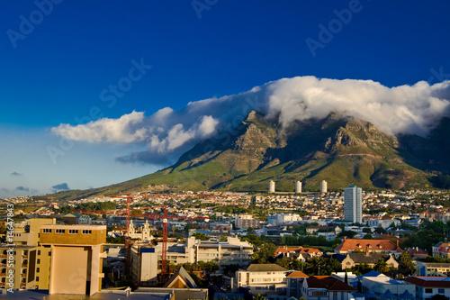 Poster Afrique du Sud Cape Town, Table Mountain