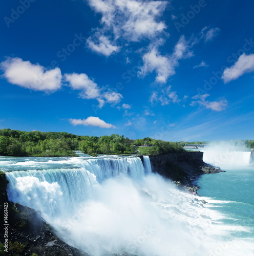 Foto op Canvas Watervallen Niagara