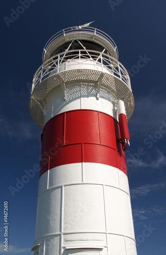 Foto-Kassettenrollo premium - Leuchtturm (von Wiski)