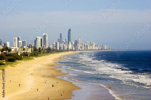 Valokuva  Gold Coast beaches, Australia