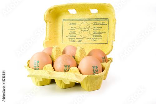 Fotografía  confezione uova