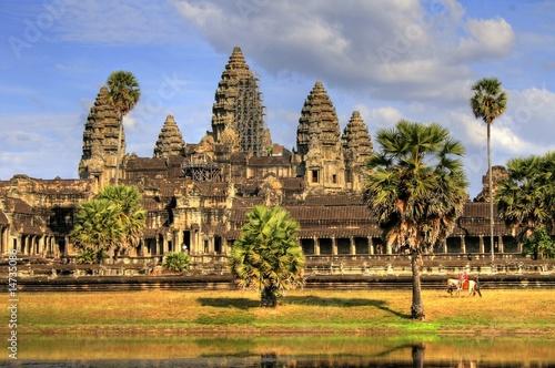 Pinturas sobre lienzo  Angkor Wat - Siam Reap - Cambodia / Kambodscha