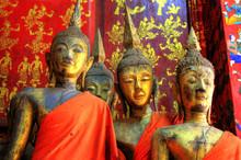 Temple In Luang Prabang, Lao / Laos