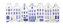 Porcelain Dutch Houses