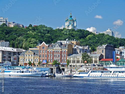 Foto op Canvas Kiev Kiev - Podol