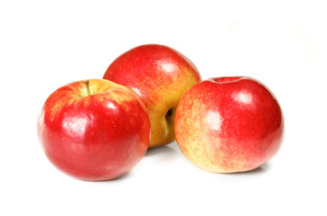 Fototapeta na wymiar three apple