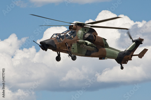 Tuinposter Helicopter Hélicoptère