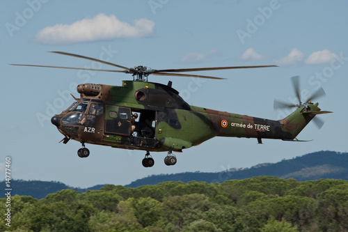 Poster Puma Hélicoptère