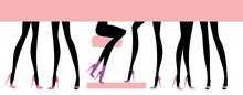 Female Feet Set