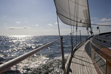 FototapetaSegelschiff auf See