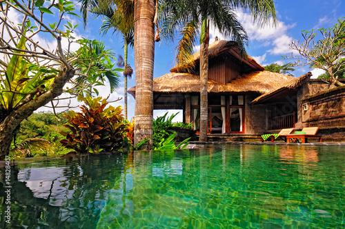 Foto op Aluminium Bali pool