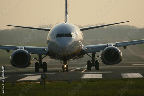 Photo Airplane on the ground