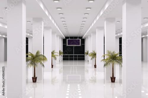Business Center Interior #14864025