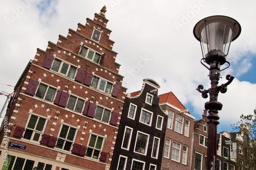 Photo  Fassaden in Amsterdam