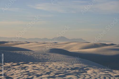 Fototapeta White Sands Nowy Meksyk