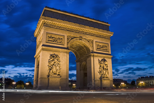Foto-Kassettenrollo premium - Arc de Triomphe