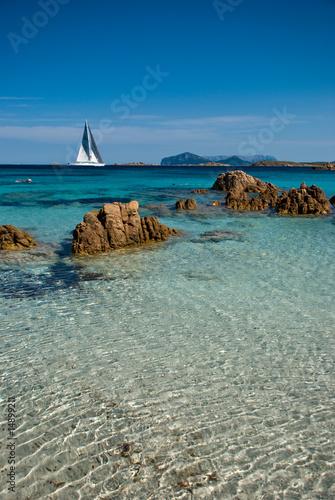 Foto-Schiebegardine Komplettsystem - sailing