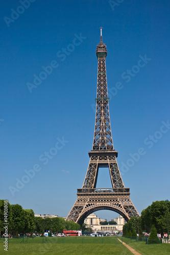 Foto op Aluminium Eiffeltoren Eiffelturm Paris